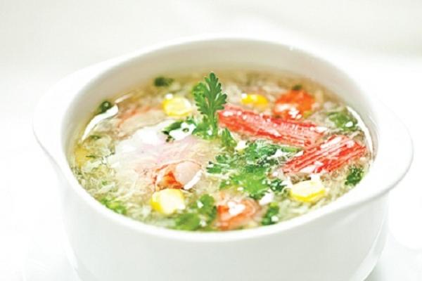 Menu món súp